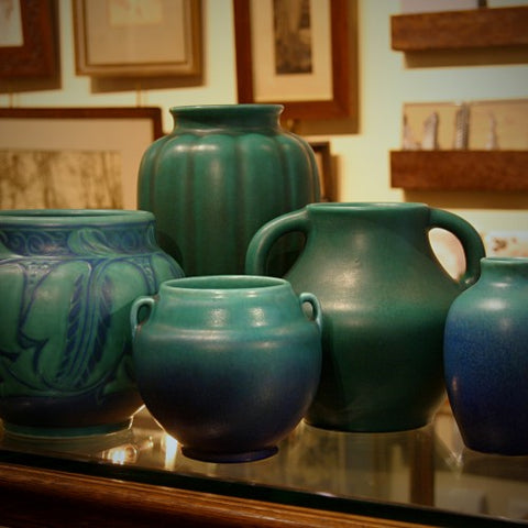 Collection of Pilkington Royal Lancastrian Ceramics at LEO Design