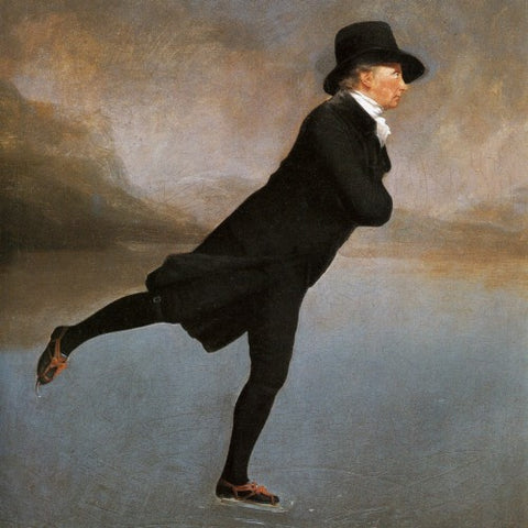 """The Skating Minister"" by Henry Raeburn (LEO Design)"