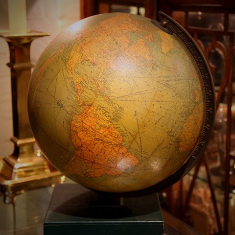 Replogle 1940's School Library Globe (LEO Design)