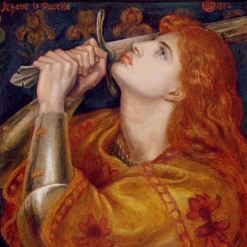 Joan of Arc by Dante Gabriel Rosetti (LEO Design)