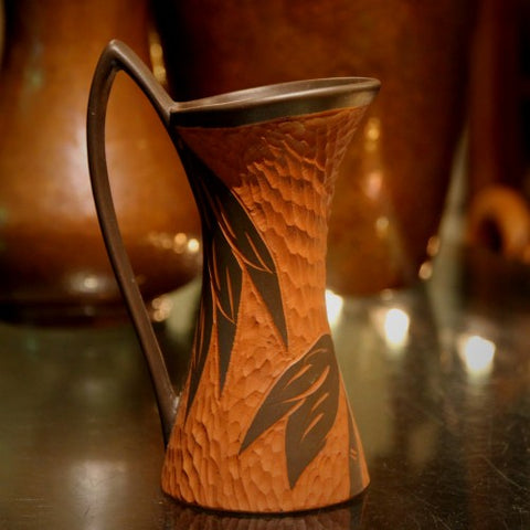 Sawa Hand-Carved Ceramic Pitcher (LEO Design)