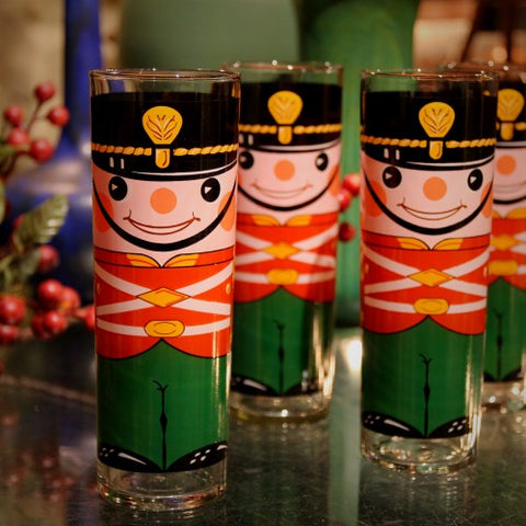 Christmas Nutcracker Highball Glasses (LEO Design)