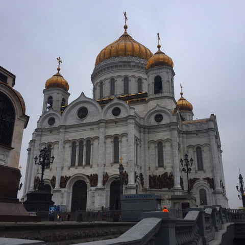 Moscow's Cathedral of Christ the Savior (LEO Design)