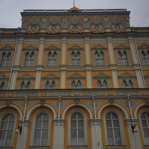 Façade of The Great Kremlin Palace, Moscow (LEO Design)