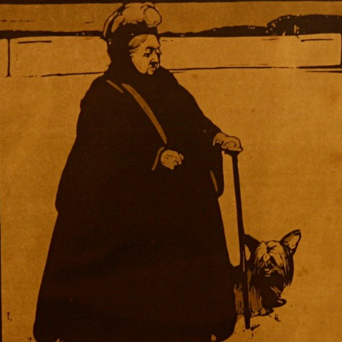 Portrait of Queen Victoria by Sir William Nicholson, RA (LEO Design)