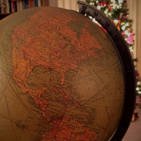 1940's School Library Globe (LEO Design)