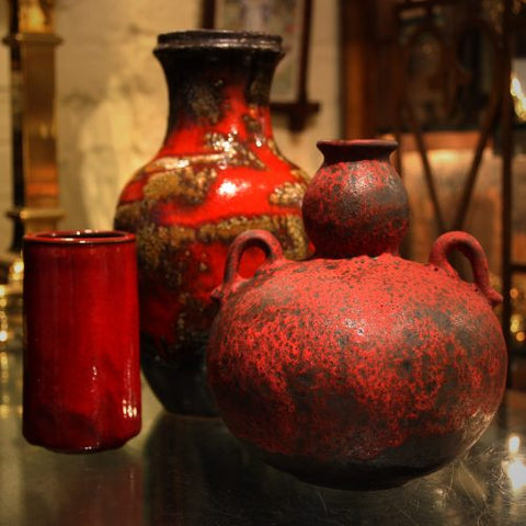 Collection of Modernist Art Pottery at LEO Design