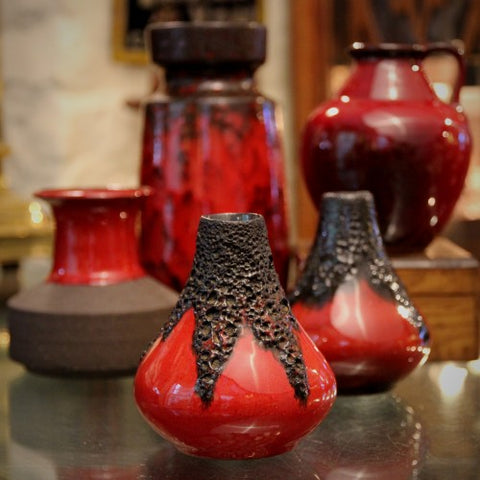 A Collection of Red-Ripe Vintage Pottery (LEO Design)