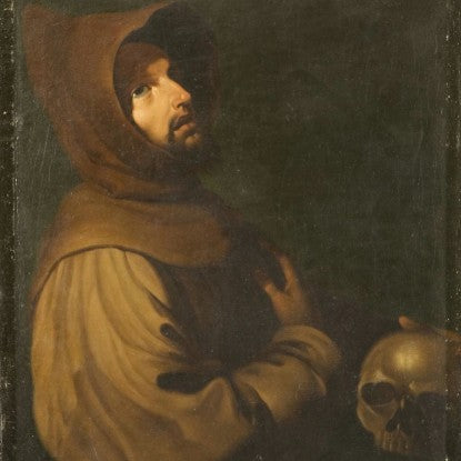 San Francisco de Asis by Francisco de Zurbarán (LEO Design)