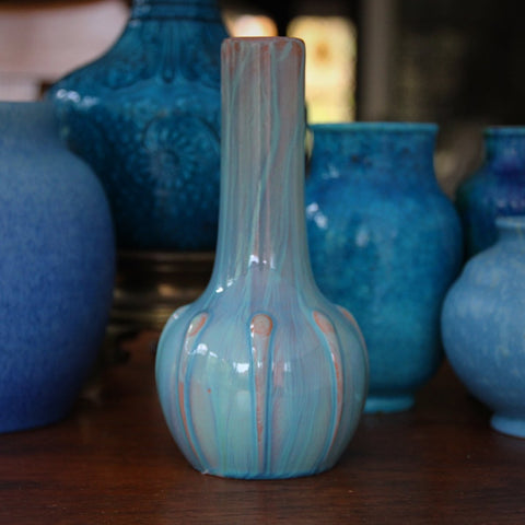 Pilkington Royal Lancastrian English High-Glazed Bud Vase (LEO Design)
