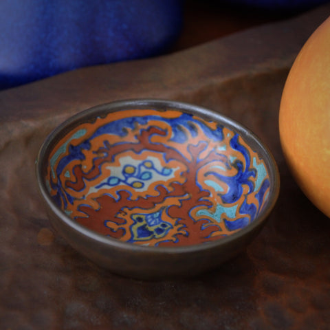 Gouda Dutch Hand-Painted Ceramic Bowl (LEO Design)