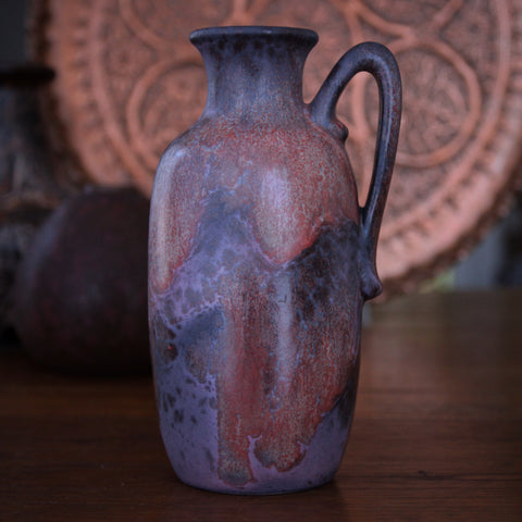 Otto Gerharz Pitcher with Organic Curdled Rose Glazing (LEO Design)