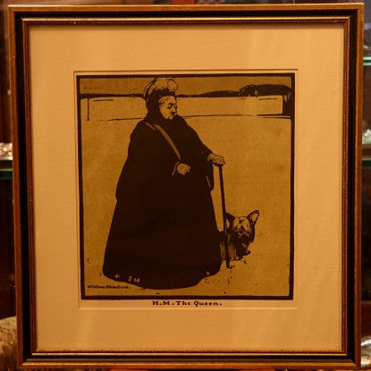 English Print of Queen Victoria by Sir William Nicholson, RA (LEO Design)