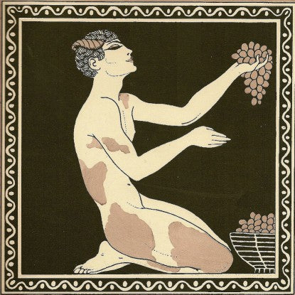 "Nijinsky in ""Afternoon of a Faun"" by Georges Barbier (LEO Design)"