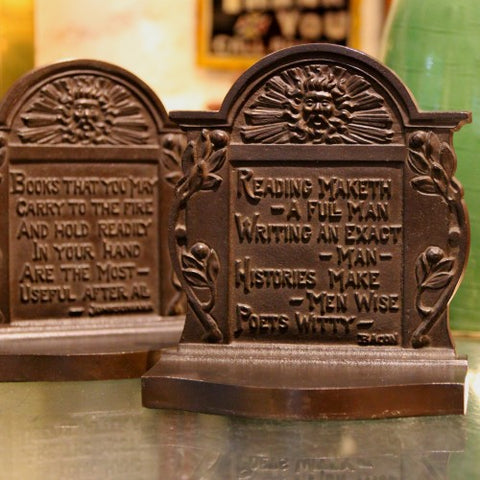 Bookends for Book Lovers by Bradley & Hubbard (LEO Design)