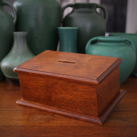 Edwardian English Mahogany Mite Box (LEO Design)