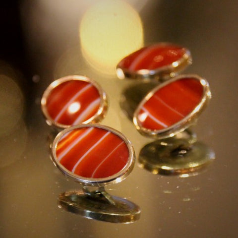 Scottish Agate Cufflinks (LEO Design)
