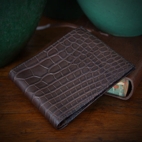 American Alligator Classic Wallet (LEO Design)