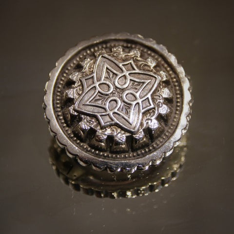 Victorian English Silver Brooch (LEO Design)