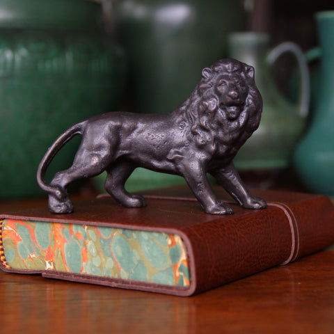 Cast Bronze Lion Sculpture (LEO Design)