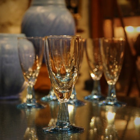 Japanese Crystal Demi-Flutes (LEO Design)