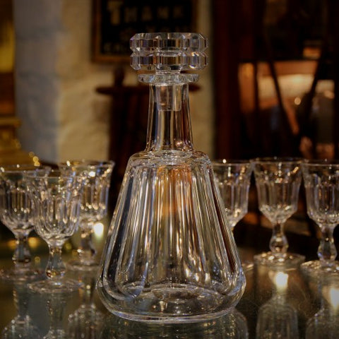 Baccarat French Crystal Decanter (LEO Design)