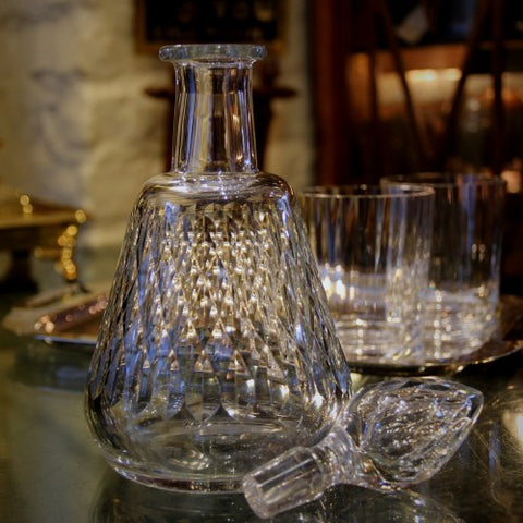Baccarat French Hand-Cut Crystal Decanter (LEO Design)