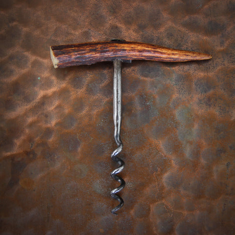 French Staghorn Tip Corkscrew (LEO Design)