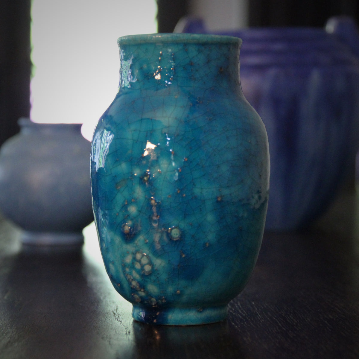 Lachanal Persian Blue Vase