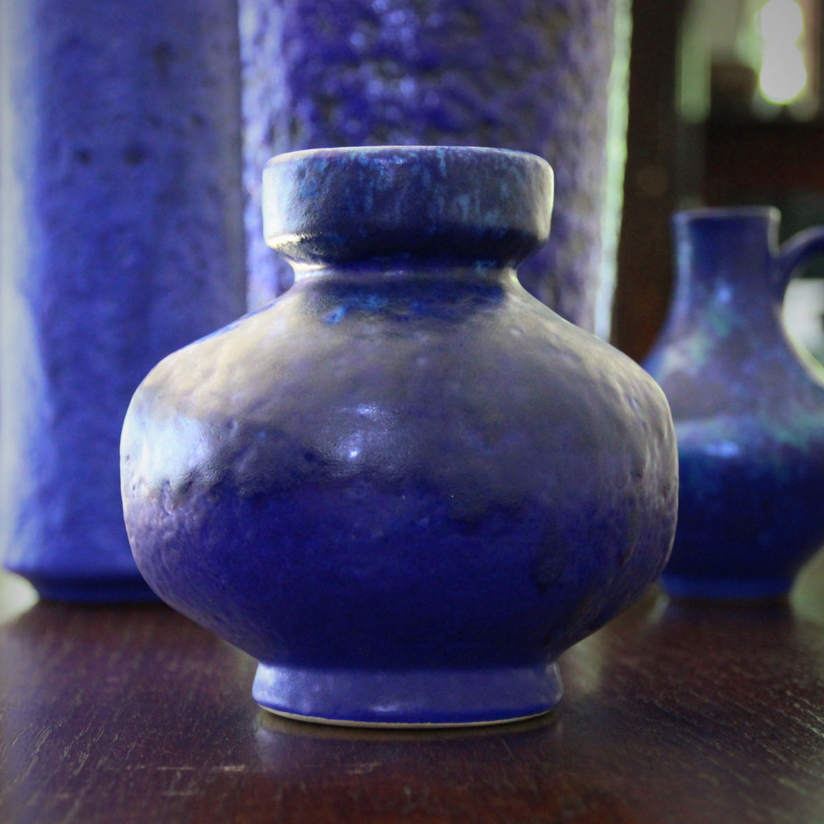 Ultramarine Ball Vase