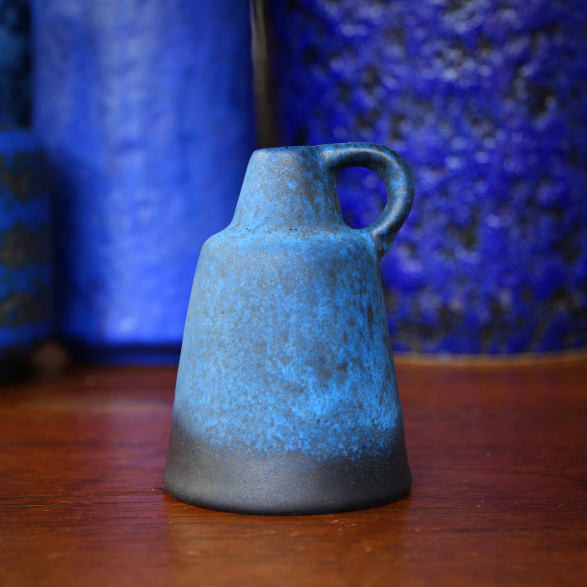 Otto Gerharz Blue Pitcher