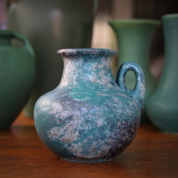 Turquoise & Grey Pitcher