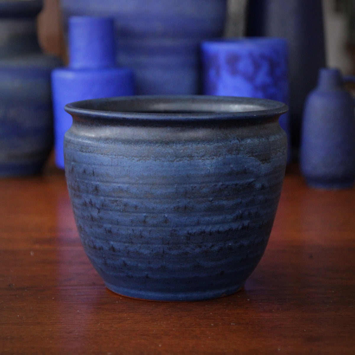 Midnight Blue Planter Pot