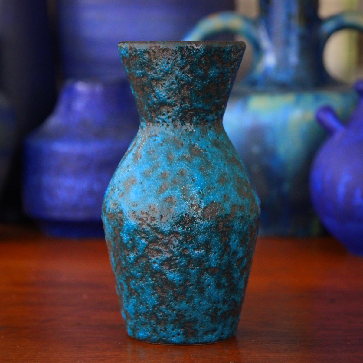 Petroleum Blue Vase