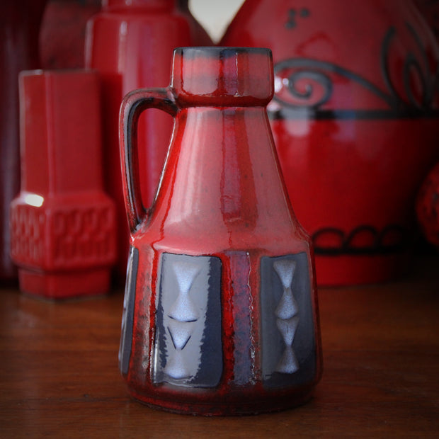Red & Grey Pitcher