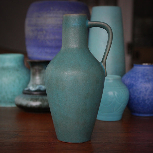 Teal Microcrystalline Pitcher