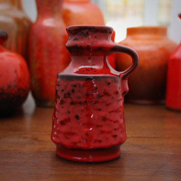 Mottled Red Pitcher