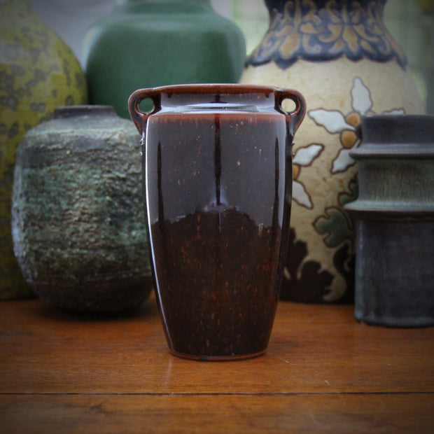 "Danish Vase with ""Riveted"" Handles"