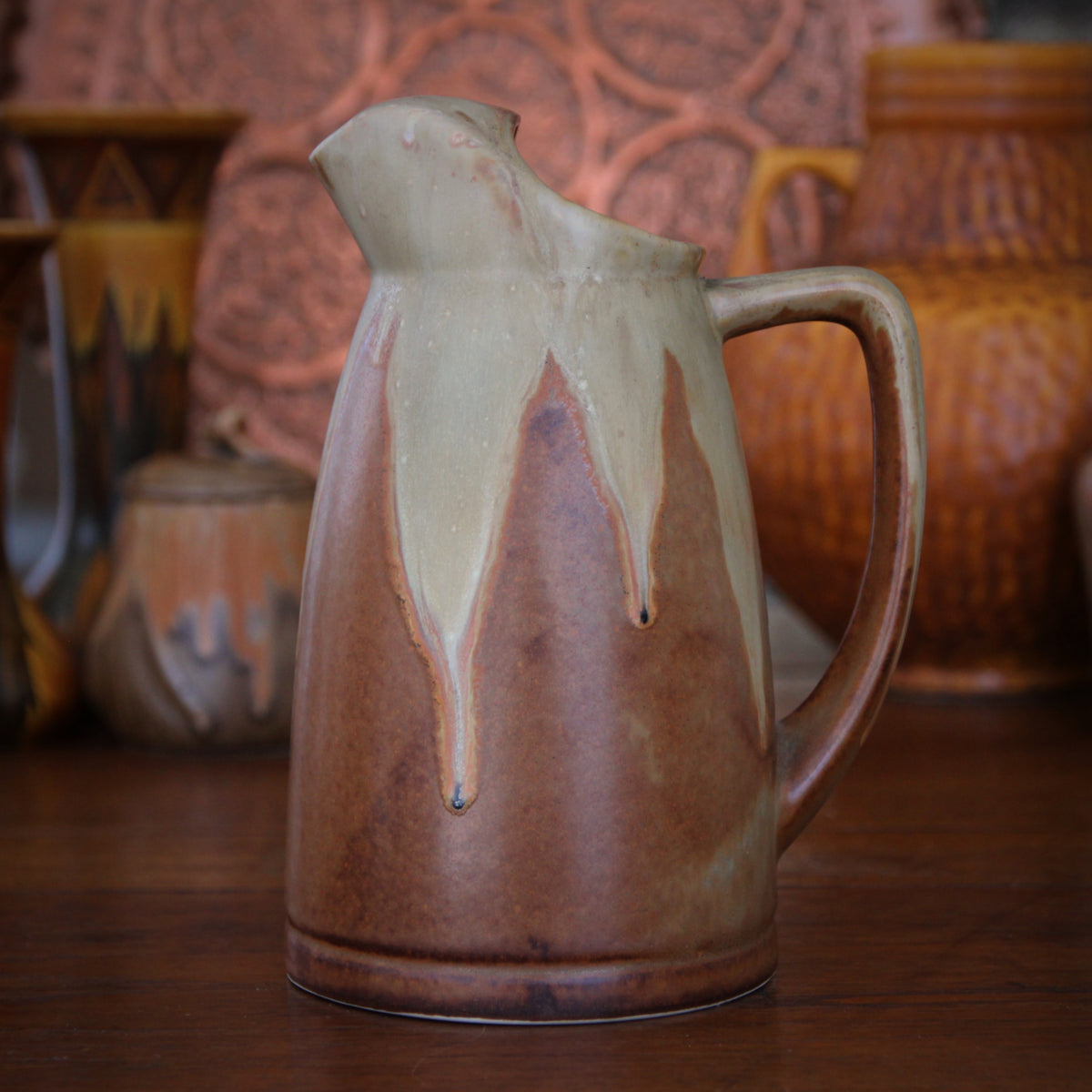 French Nouveau Wine Pitcher