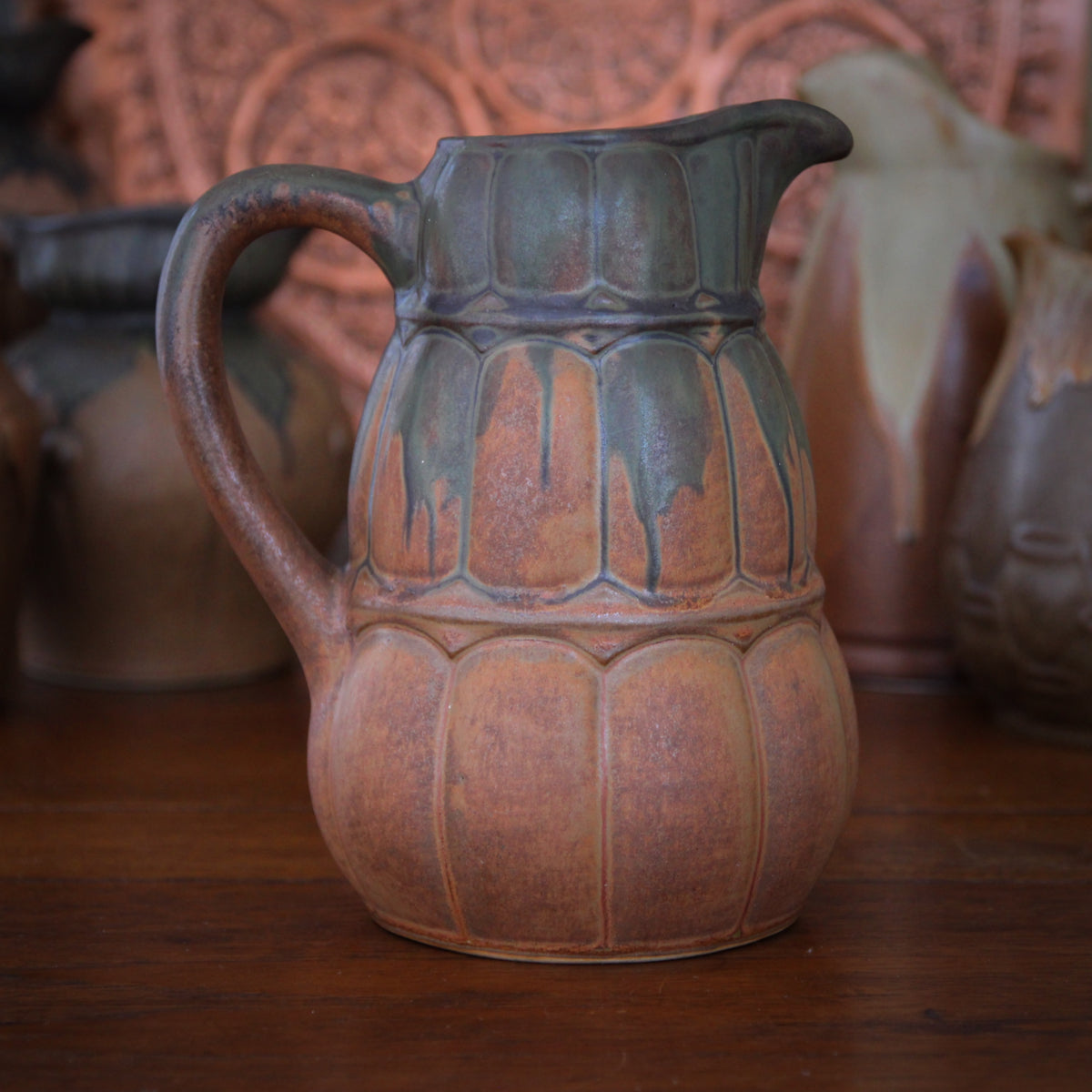 French Triple Gourd Pitcher