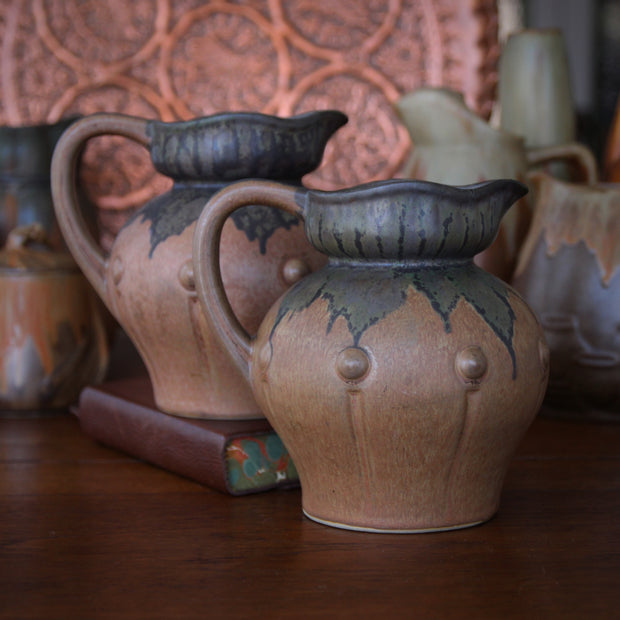 Pair of French Nouveau Jugs