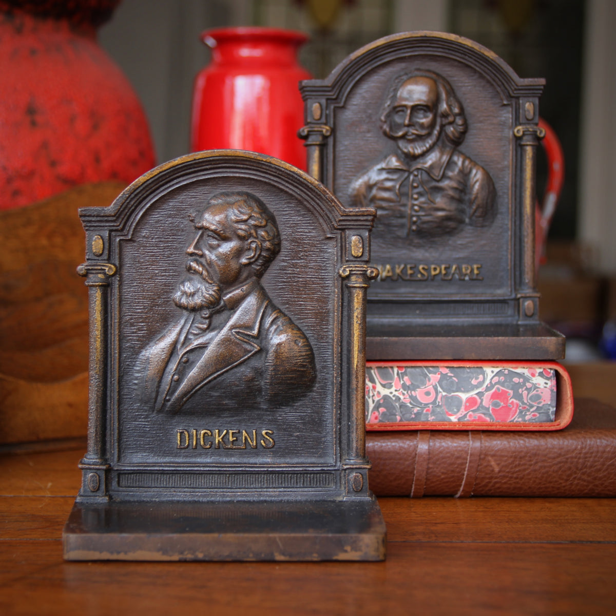 Great English Writers Bookends