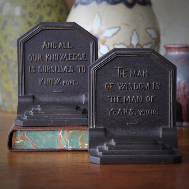 British Poets Bookends