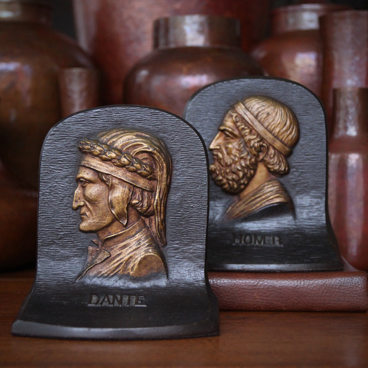 Dante & Homer Bookends