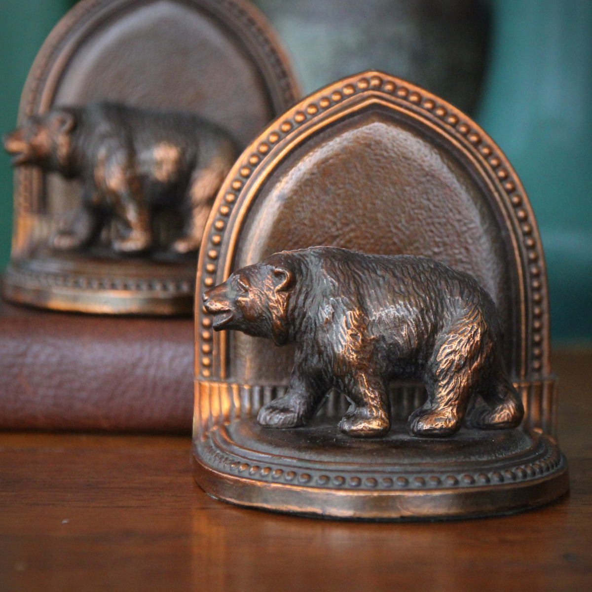 Walking Bear Bookends