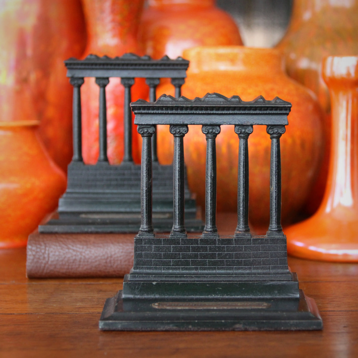 Temple of Saturn Bookends