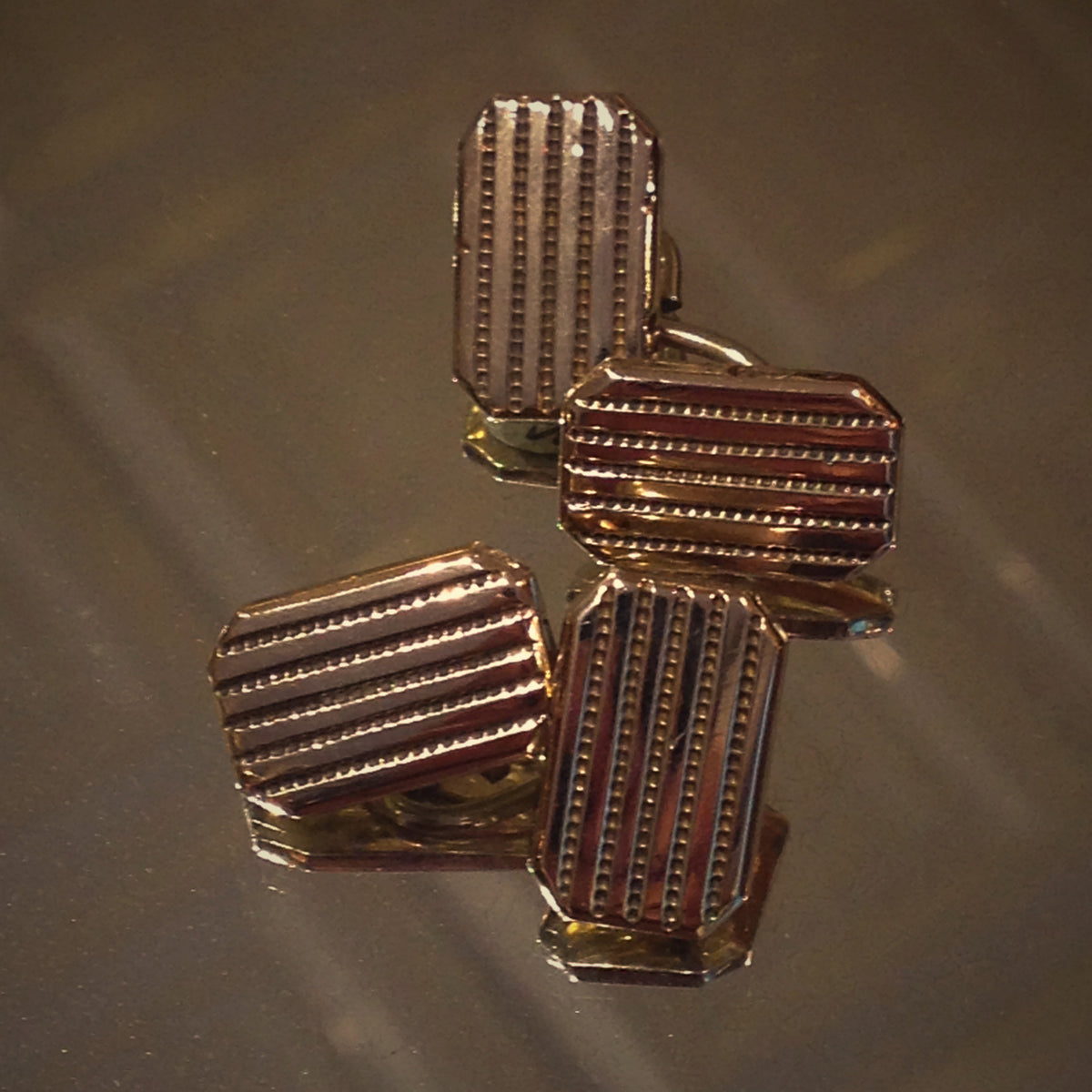 Victorian Ribbed Cufflinks