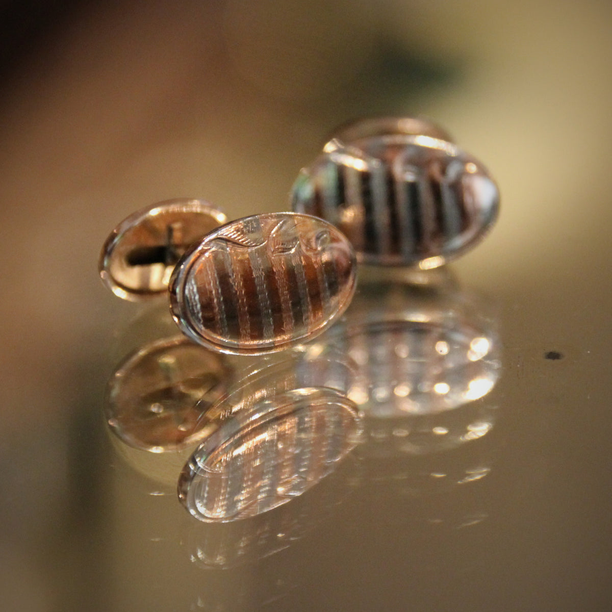 Mixed Metal Cufflinks
