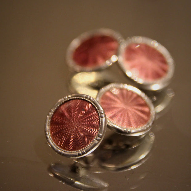 Machine-Turned Guilloché Cufflinks