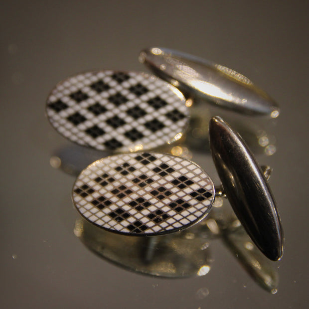 English Argyle Cufflinks
